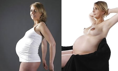Und nackt angezogen frau schwangere Nackt und