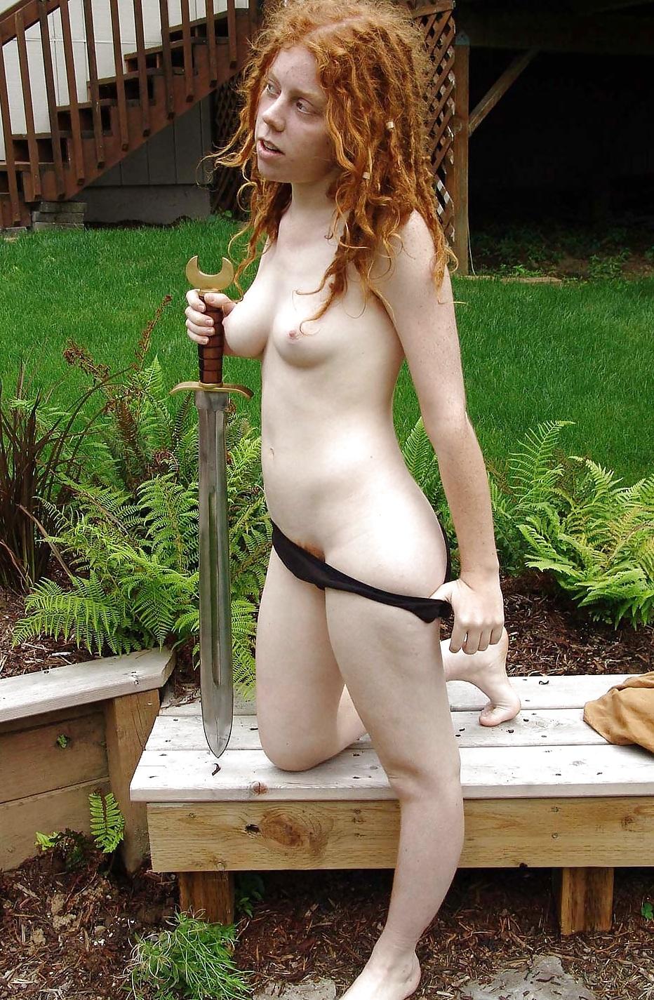 Ida 2 - Redheaded Hippie With Sword - 22 Pics  Xhamster-3996