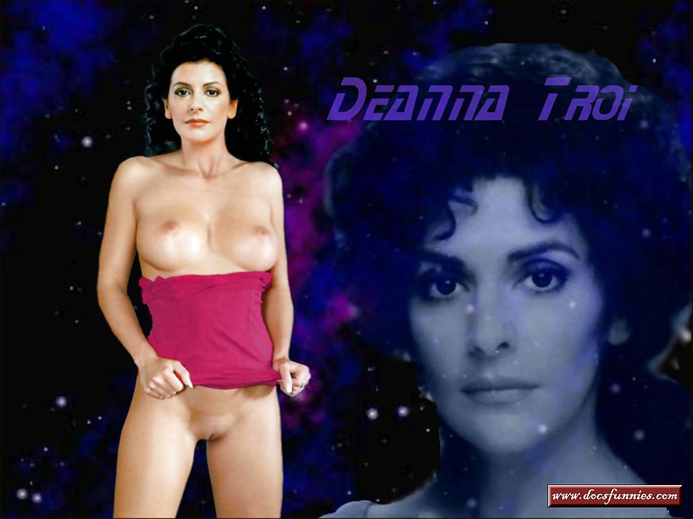 Marina sirtis nude images
