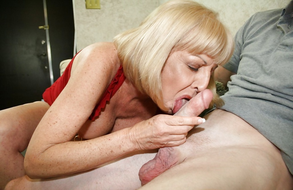 Girl older women getting oral sex your
