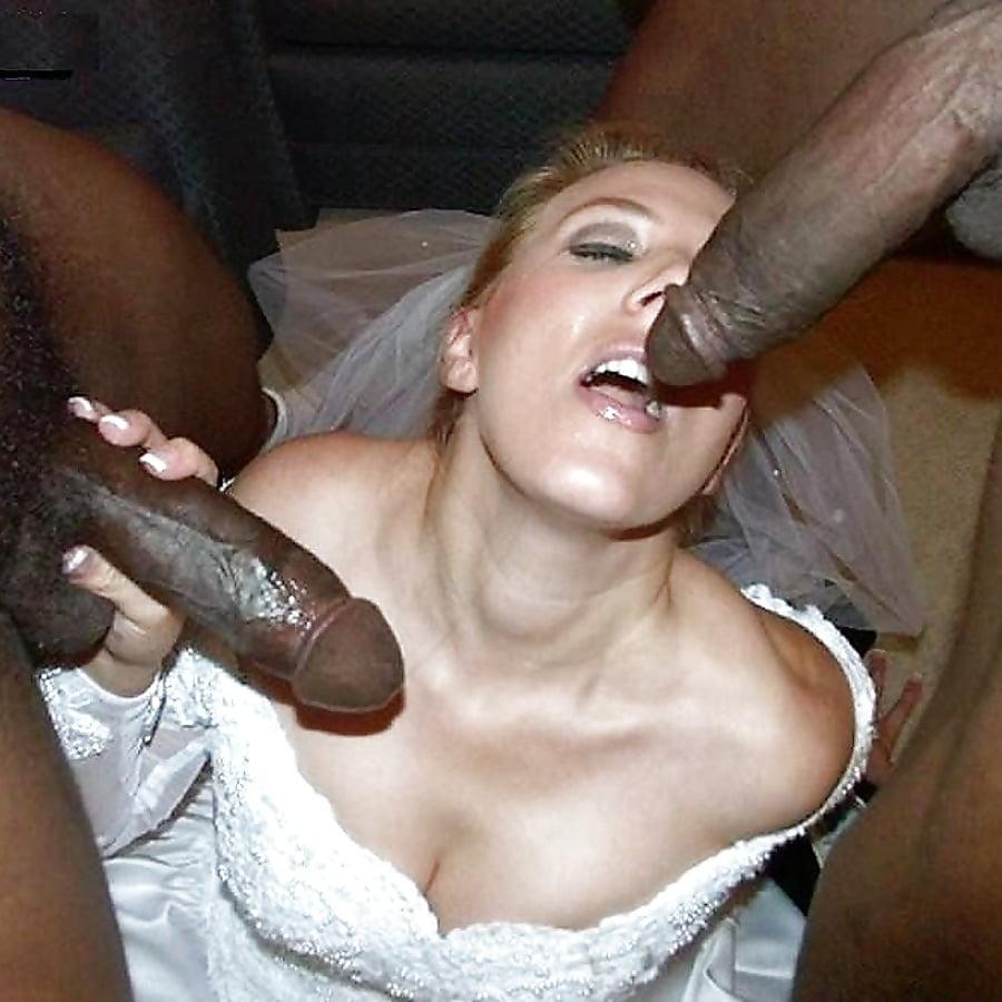 Black cock for white brides