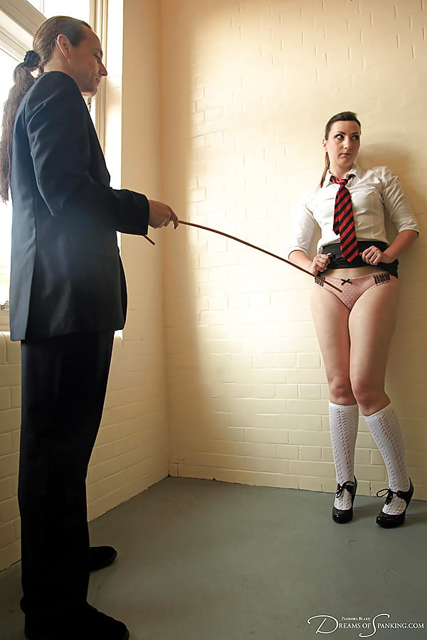 Pussy erotic spanking school girls