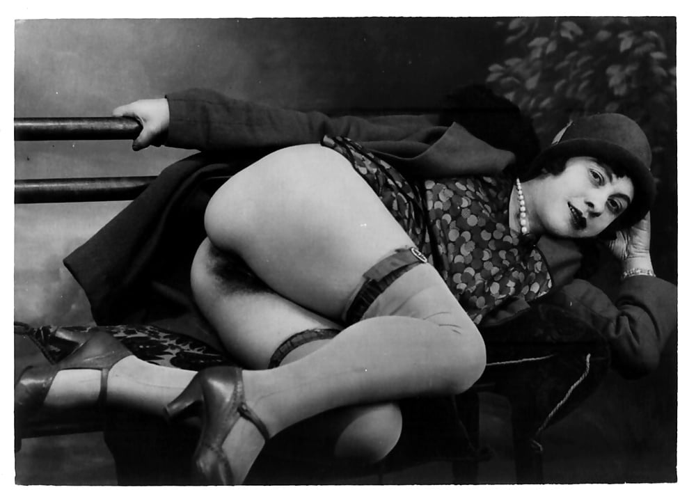 Vintage Nude Flapper Pin Up Woman Antique Portrait Photograph