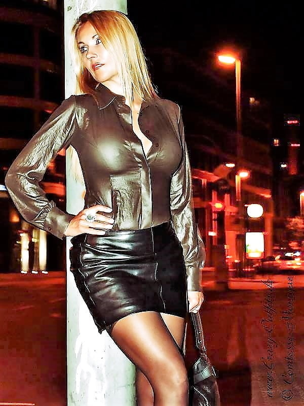 Milfs in leather