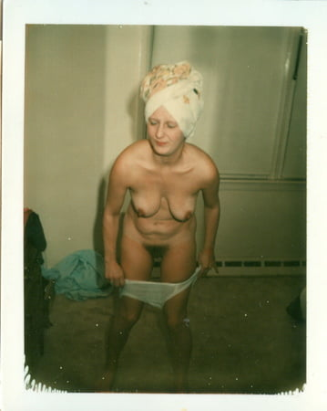 Polaroids nude women Vintage amateur