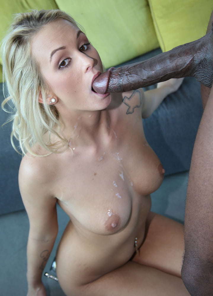 Alanah rae gets her first big black cock and she works it for the cum and the pleasure