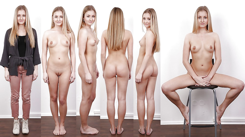 Girls leggings undress the naked girl ass