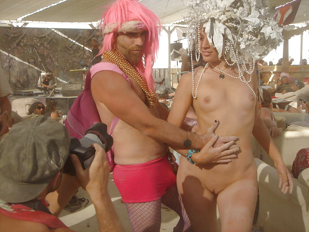 Burning man orgy photo