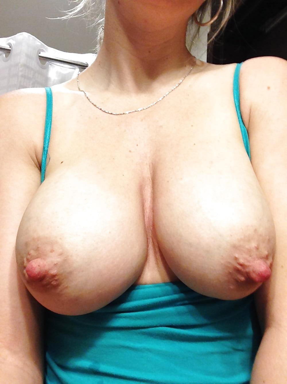 Big boob long nipples